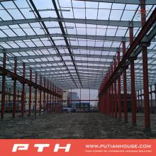 Prefab Diseño personalizado Estructura de acero Warehouse From Pth
