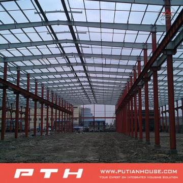 Prefab Customized Design Armazém de estrutura de aço de Pth