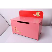 Storage Wooden Toy Storage Toy Box Bench Chest Storage Case Children Furniture Decoration Furniture-Red Chick