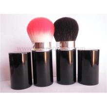 Portable Black Handle Hautpflege Einziehbare Bürste