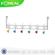 Over The Door Metal Towel Hooks with Colorful Ceramic Balls