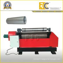 Machine à plaque à deux rouleaux hydraulique pour arête agricole