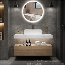 Hang on the wall bathroom vanity cabinet