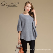 Цена Фабрика OEM Новый зима о-образным вырезом вязать Ladiessweaters женские свободные , чисто шерстяной свитер