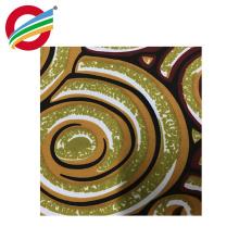 Cómodo tejido de tela de impresión de cera de encaje africano para la ropa
