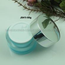 50 г овальной формы Акриловые Косметические Jar