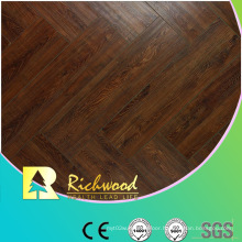 12mm HDF Embossed Hickory V-Grooved Waxed Edged Lamiante Floor