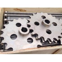 24 Tooth Industrial Steel Roller Chain Sprocket