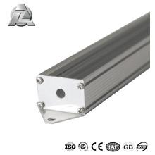 China planta fornecendo alumínio durável para perfil de extrusão de tubo de led