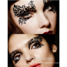 Beautiful eye decoration fake tattoo stickers for party(custom design)
