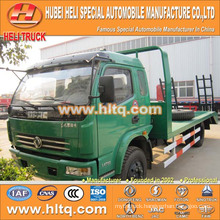 DONGFENG brand 120hp load 6-7tons 4X2 machine equipment transport truck newly produced export for Africa.