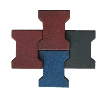cheap playground rubber flooring tiles rubber dogbone driveway pavers for garden
