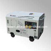 Luftgekühlter Zwei-Zylinder-Diesel-Generator-Set (DG15000SE)
