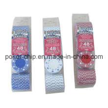 48PCS Poker Chip Set im Blister Tray (SY-S03)