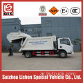 Dongfeng 3 ton compactor garbage truck