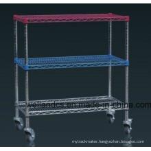 NSF Anti-Static ESD Industrial Rolling Cart/ Metal Trolley/Utility Cart / (HD183636A3W)