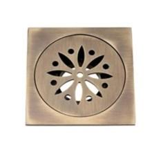 Square Copper Shower Drain