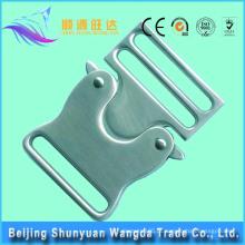 Alta qualidade personalizado latão bloqueio metal saco fivela para bolsas