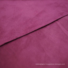 Nonwoven synthetic microfiber suede leather for shoes
