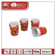 Beliebte Kunststoff in-Mould-labeling mit vollem Druck 8OZ/0,226 L cup