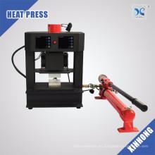 La prensa del calor de Rosin del precio al por mayor presiona la máquina manual hidráulica de la prensa de la resina de 20 toneladas con la placa de calor dual