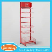 crossbar hook floors metal hanging basket stand