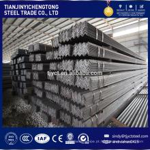 Ângulo de aço galvanizado por imersão a quente Q235B