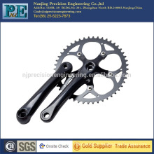 China high precision custom bicycle chain wheel and crank