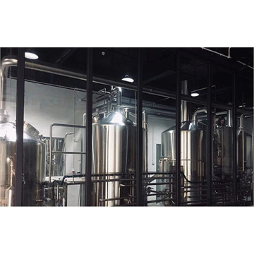 Industrial Brewery Equipment med 4 fartyg Brewhouse
