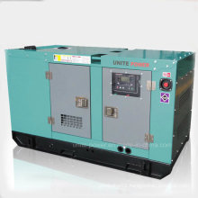 60Hz 125kVA Soundproof Lovol Generator Diesel Generator Set