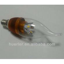 Base d'or E14 E27 5w led candlel light