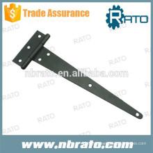 RH-129 ferro metálico ajustável T dobradiça