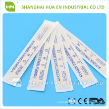 sterilized disposable birch wood tongue depressor