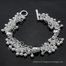Vente chaude Prix d'usine Bracelet en argent 925 pour femmes BSS-013