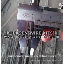 Barra cuadrada torcida / barra de acero torciendo fría