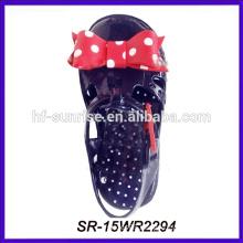 cute bowknot new design kids pvc sandals kids jelly sandals children jelly sandals