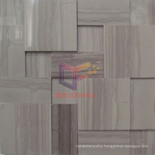 Grey Wall Used Stone Mosaic Tile (CFS1035)