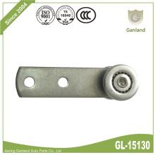 Ganzstahl-Vorhangkugellagerrolle mit Schaft