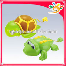 Plastic Pull Line Crocodile And Tortoise Toy For Baby,Animal Pull Line Toy