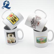 Taza de taza de café de agua de cerámica de viaje barata personalizada