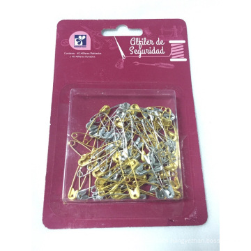 Sewing Kit of Silver and Gold Pin
