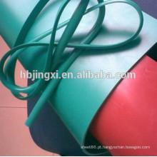 Folha plástica macia do PVC