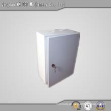 Caixa de folha de ferro para suportes de escritório ou outras funções