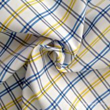 Fios de algodão tecido tingido (QF13-0219)