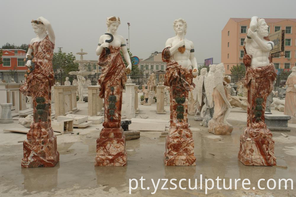 Marble Four Season Statues
