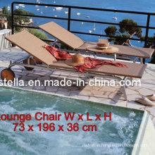 Wicker Outdoor Garden Rattan Lounger Furniture