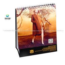 Custom Printing Folding Promotional Stationary Desk Calendar