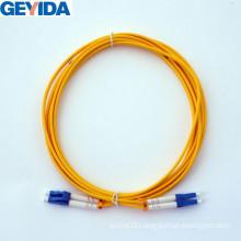 LC/Upc Duplex Patch Cord Optical Fiber Cable