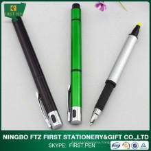 Plastic Highlighter Both Side Pens
