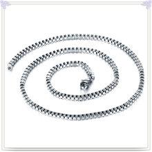 Collar de moda cadena de moda de joyería de acero inoxidable (sh029)